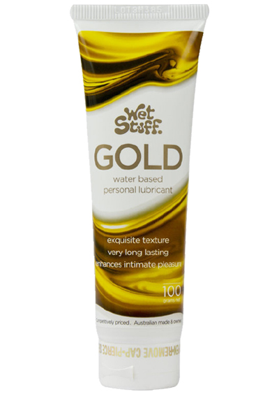 Wet Stuff Lubricant - Gold