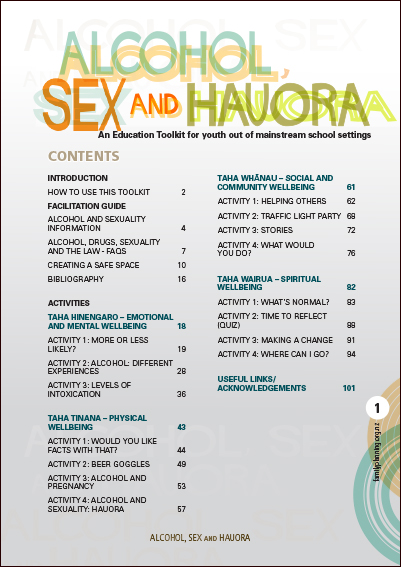 Alcohol, Sex And Hauora