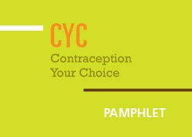 Contraception - Youth Pamphlet