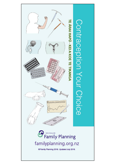 Contraception Your Choice - Pamphlet