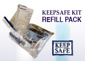 Keep Safe Kit Refill Pack